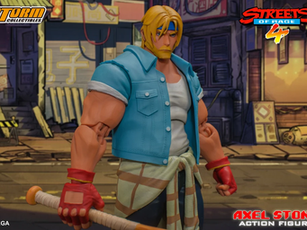 STREETS OF RAGE 4: action figure de Axel Stone
