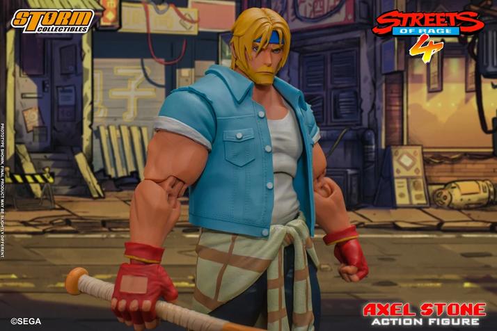 STREETS OF RAGE 4: action figure de Axel Stone