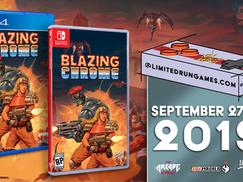 Blazing Chrome: Collector's Edition