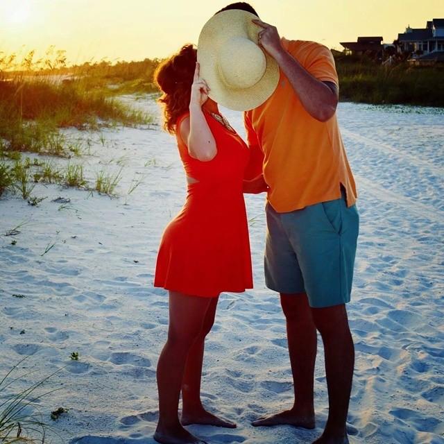 cute beach couples