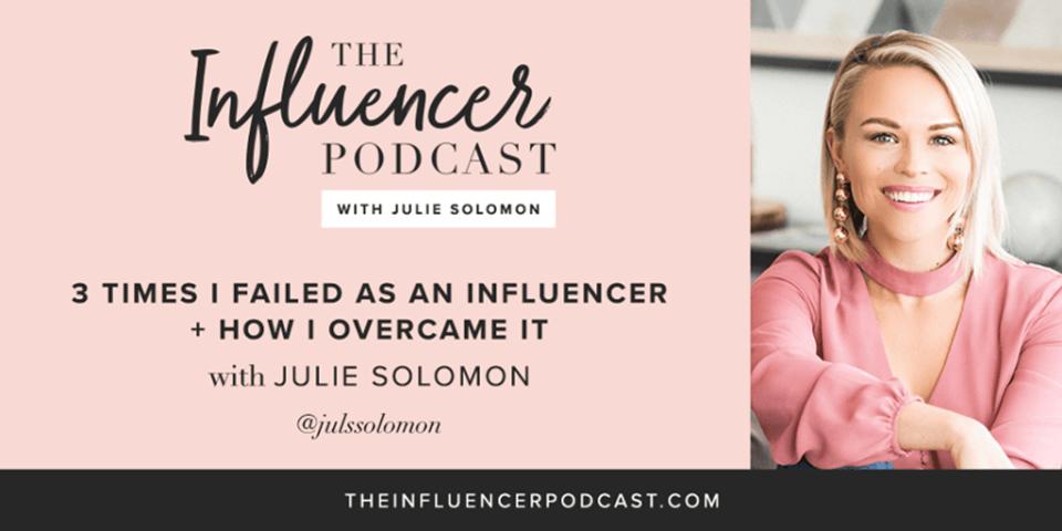 Julie solomon the influencer podcast