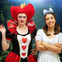 Queen of Hearts & Alice