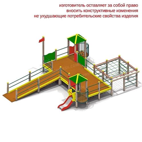 5901 - Детский игровой комплекс для детей с ограниченными возможностями