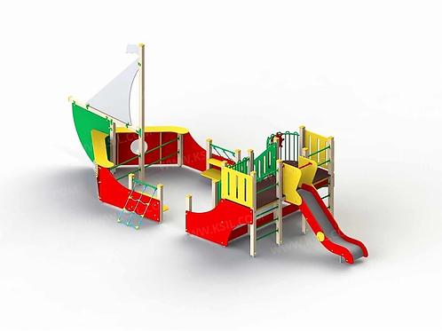 5125 - Детский игровой комплекс «Парусник»