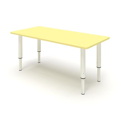 Стол прямоугольный на регулируемых ножках