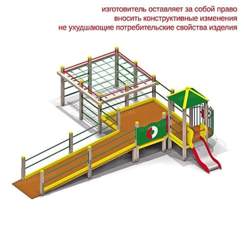 5902 - Детский игровой комплекс для детей с ограниченными возможностями