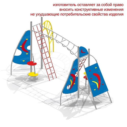 """6400 - Детский спортивный комплекс """"Каскад"""""""
