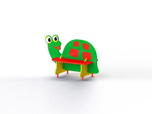 """2406 - Скамейка детская """"Черепаха"""""""