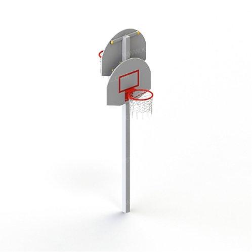 6502 - Стойка баскетбольная комбинированная