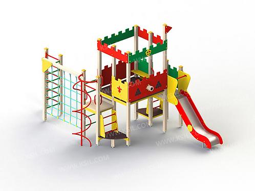5296 - Детский игровой комплекс «Форт»