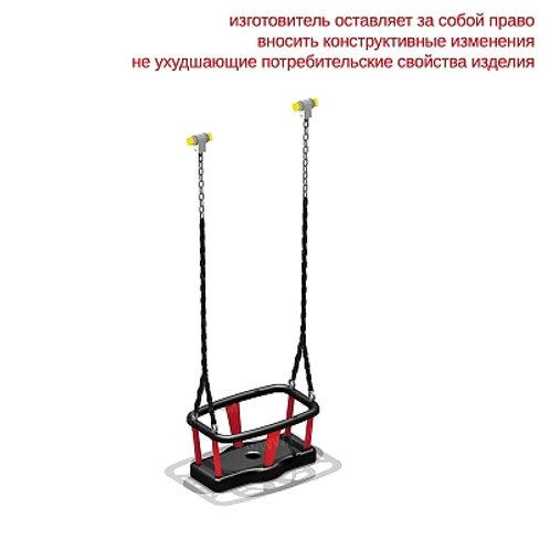 4961 - Сидение для качелей резиновое с подвеской