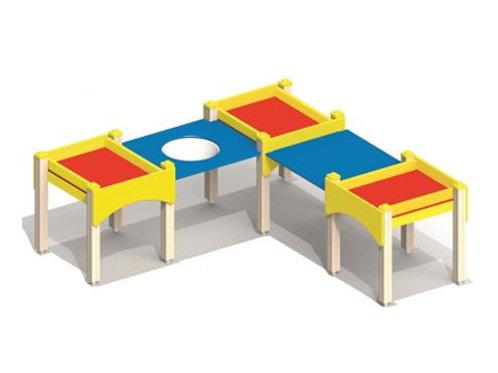 4244 - Стол-песочница для детей с огр. физ. возможностями