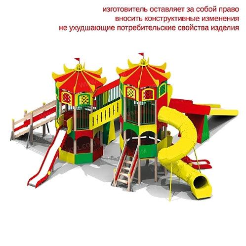"""5484 - Детский игровой комплекс """"Зимняя горка"""""""