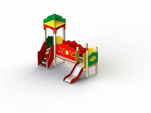 5228 - Детский игровой комплекс «Восточная сказка»