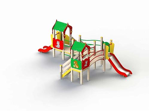 5221 - Детский игровой комплекс «Лесная сказка»