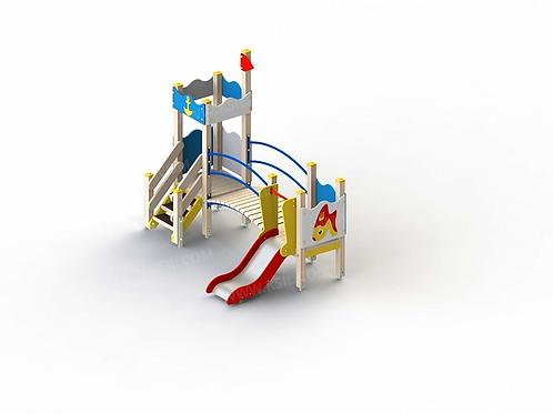 5285 - Детский игровой комплекс «Золотая рыбка»