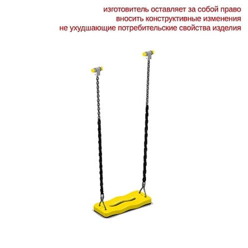 4960 - Сидение для качелей резиновое с подвеской