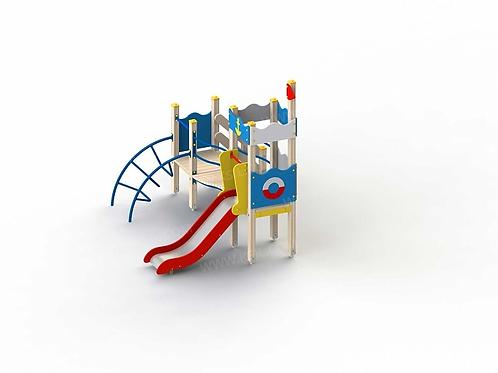 5284 - Детский игровой комплекс «Золотая рыбка»