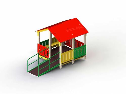 4350 - Манеж с одним входом для детей с огр. физ. возможностями