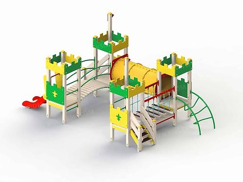 5279 - Детский игровой комплекс «Крепость»