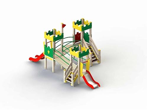 5290 - Детский игровой комплекс «Крепость»