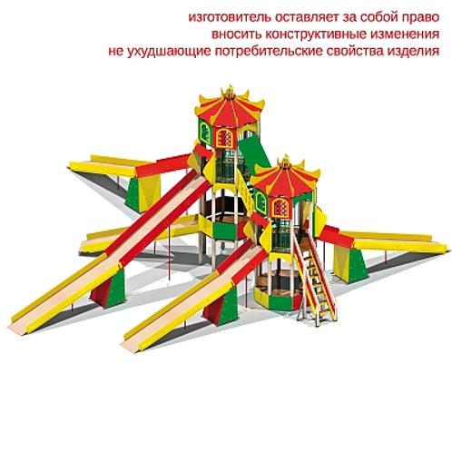 """5483 - Детский игровой комплекс """"Зимняя горка"""""""