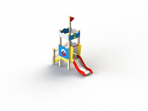 5283 - Детский игровой комплекс «Золотая рыбка»