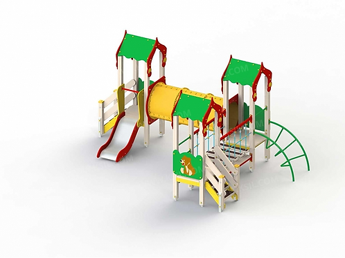 5222 - Детский игровой комплекс «Лесная сказка»
