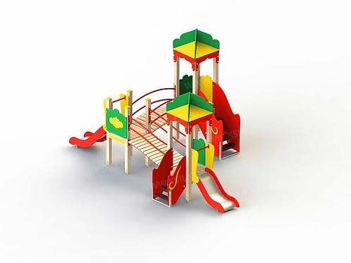 5231 - Детский игровой комплекс «Восточная сказка»