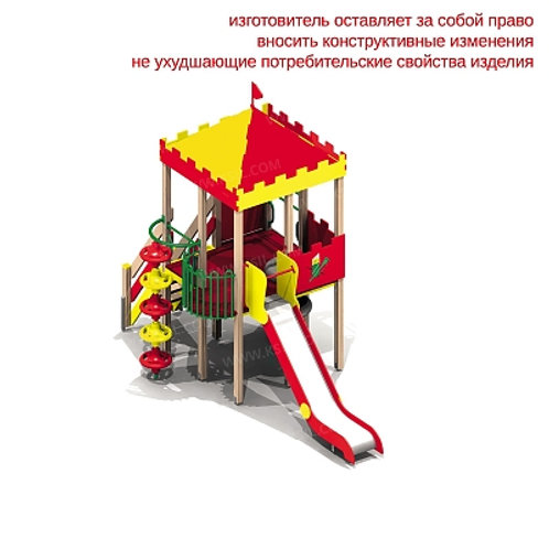 """5663 - Детский игровой комплекс """"Сторожевая башня"""""""