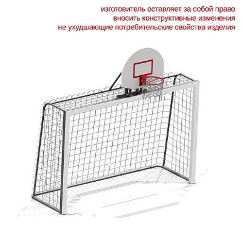 6603 - Гандбольные ворота с баскетбольным щитом (без сетки)