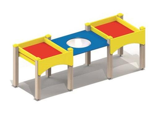 4245 - Стол-песочница для детей с огр. физ. возможностями