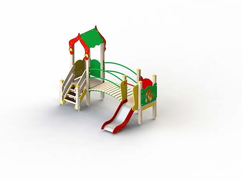 5218 - Детский игровой комплекс «Лесная сказка»