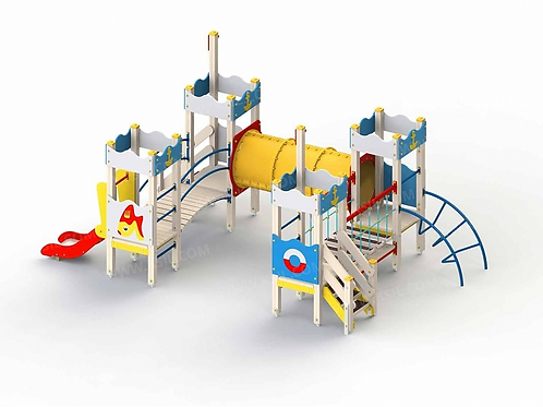 5286 - Детский игровой комплекс «Золотая рыбка»