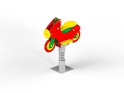 """4112 - Качалка на пружине """"Мотоцикл"""""""