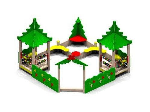 4257 - Песочный дворик «Опушка»