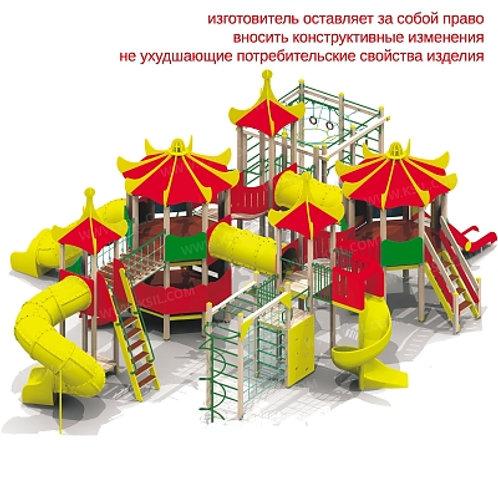 """5453 - Детский игровой комплекс """"Лагуна"""""""