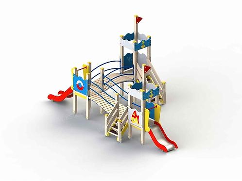 5282 - Детский игровой комплекс «Золотая рыбка»