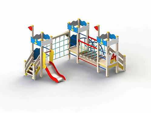 5280 - Детский игровой комплекс «Золотая рыбка»