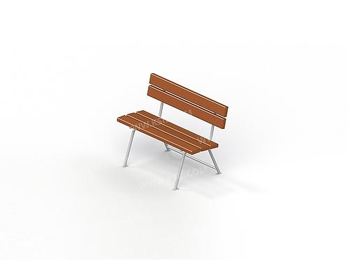2213 - Диван садово-парковый на металлических ножках