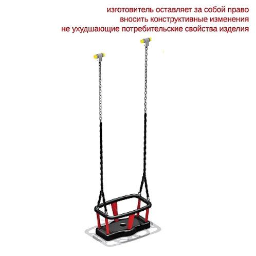 4969 - Сидение для качелей резиновое с подвеской