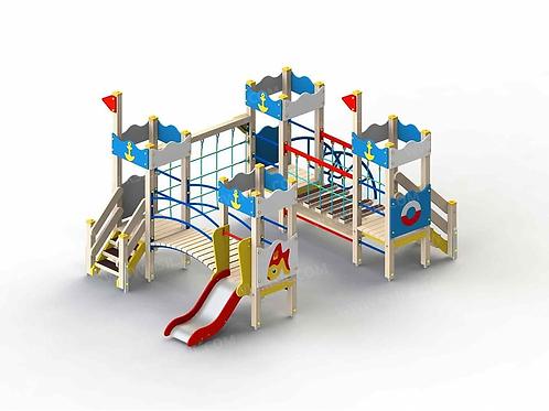 5281 - Детский игровой комплекс «Золотая рыбка»