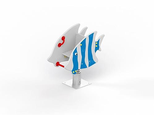 "4130 - Качалка на пружине ""Рыбка"""