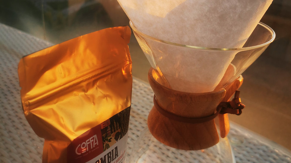 Chemex 6 Cup ve 250Gr La Guamera