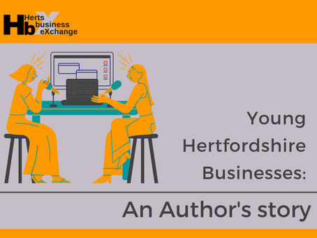 Authors Interview with Herts Business Exchange