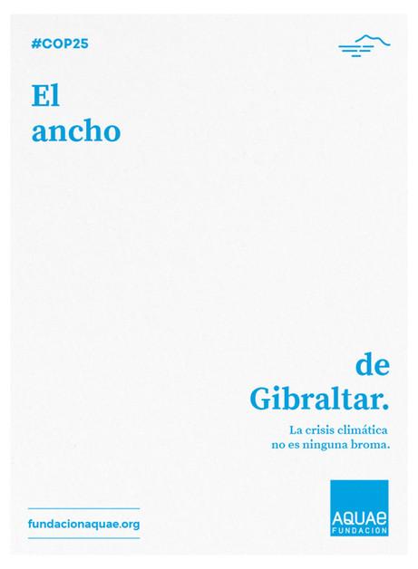 El ancho de Gibraltar