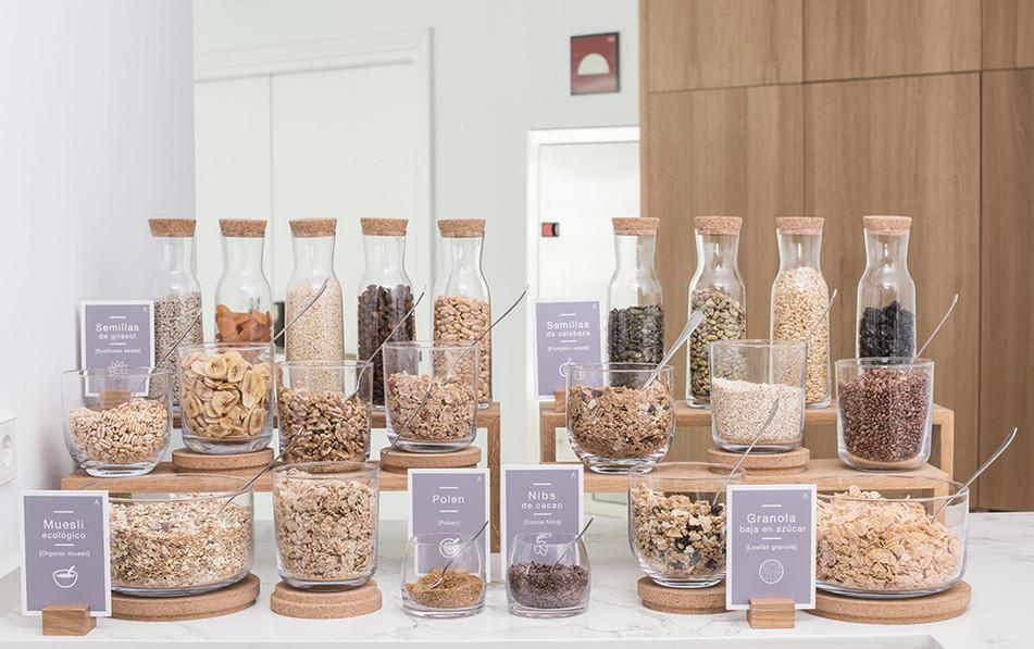 Señalética cereales