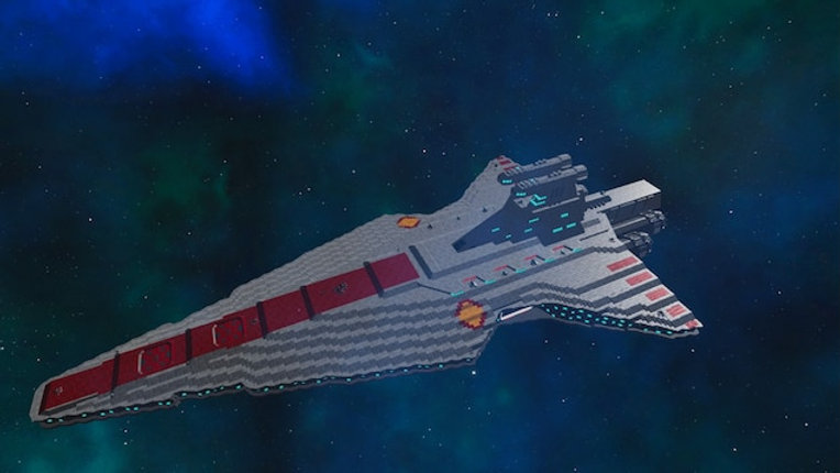 Star Wars : Venator Class II - Jedi Cruiser