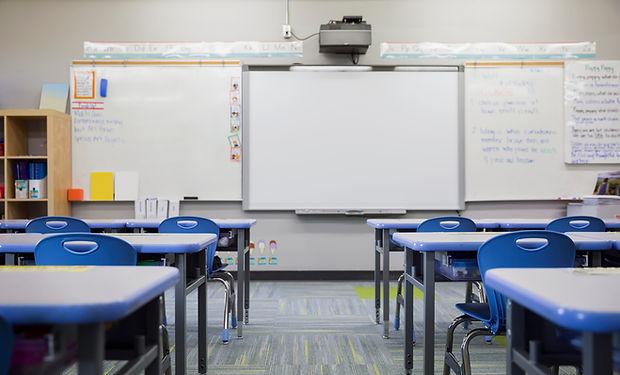 tomt klasserom