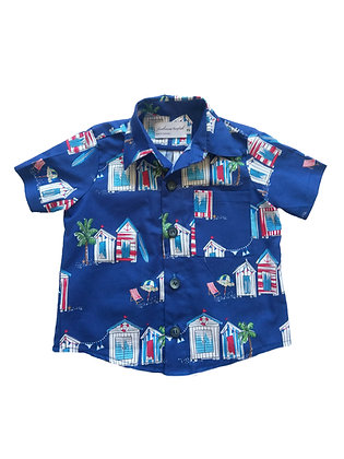 Boy Collared Shirt, Cabana